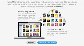 iTunes Match Review: Apple's Cloud Music Service Now Available in Canada