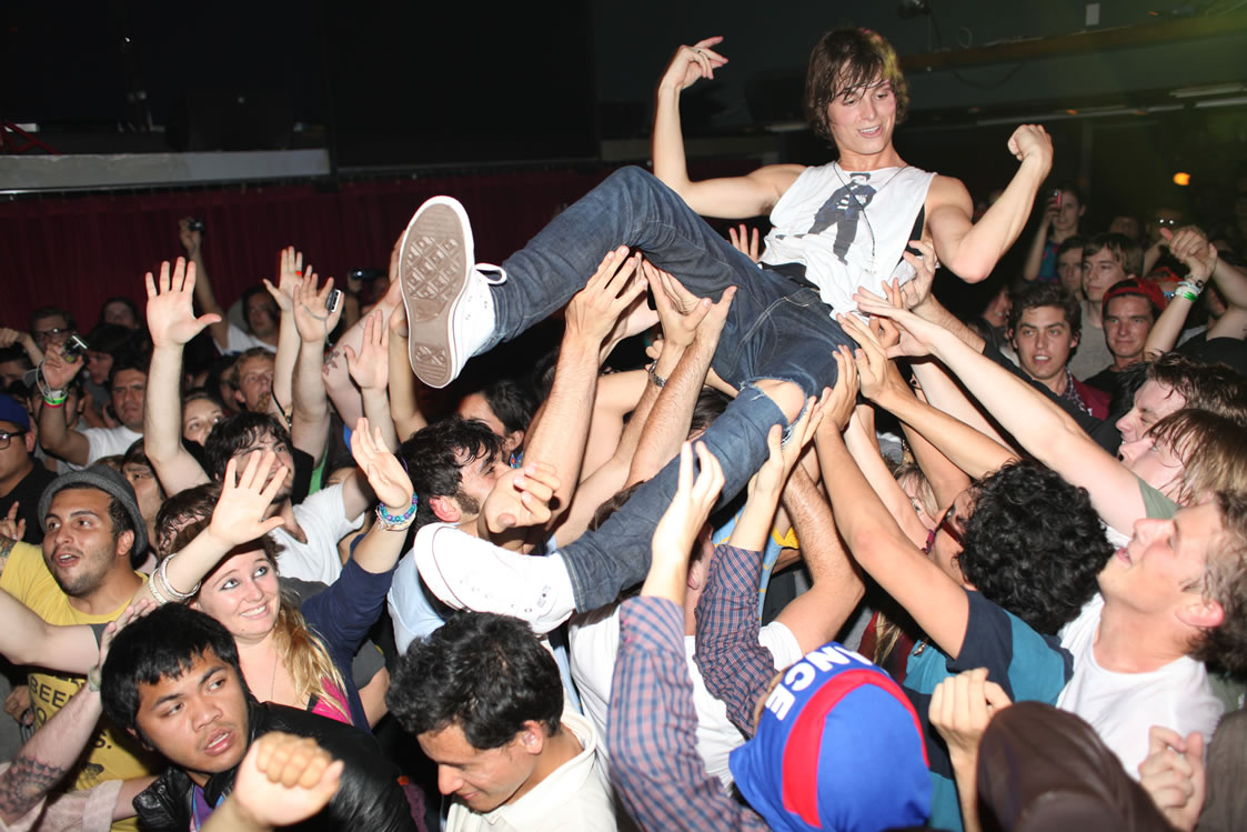 How to Mosh in a Mosh Pit