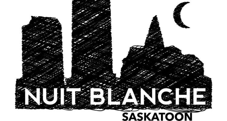 nuit blanche saskatoon logo