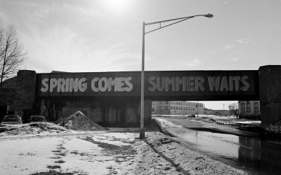 spring comes summer waits