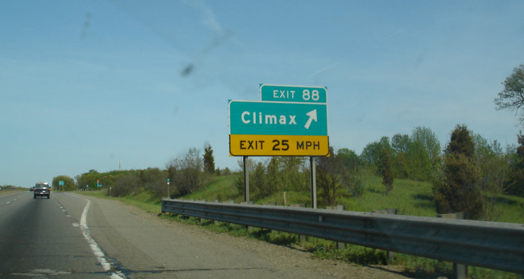 Roadsign_for_Climax_Michigan